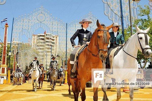 Feria de Jerez. Cádiz  Andalusien  Spanien