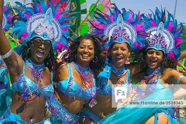 Parade Tänzer  Caribana  Toronto (Ontario)