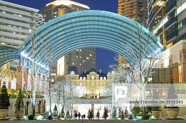 Moderne Architektur in Ebisu  Tokio  Japan