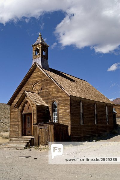 'Church Built in 1882  Bodie State Historic Park  California