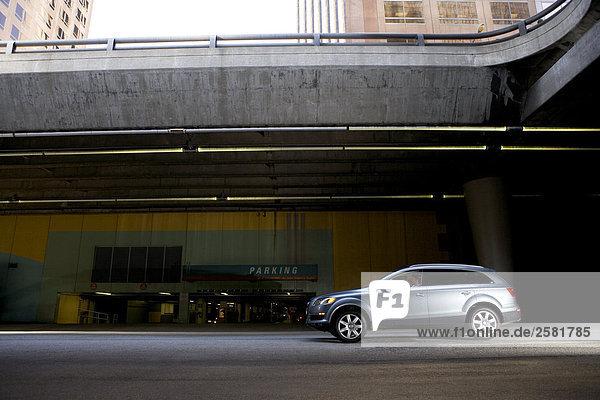 Garage parken Unterführung