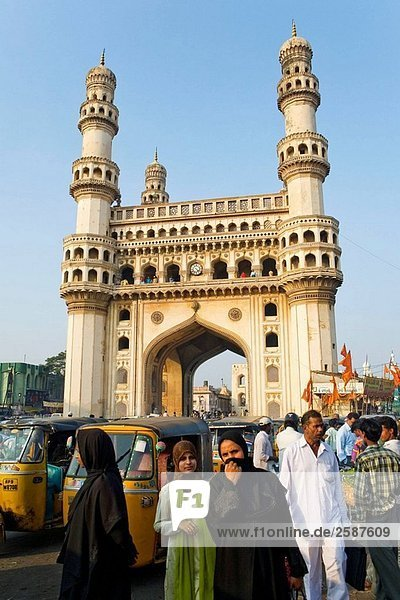 Indien. Hyderabad. Chahmiran.