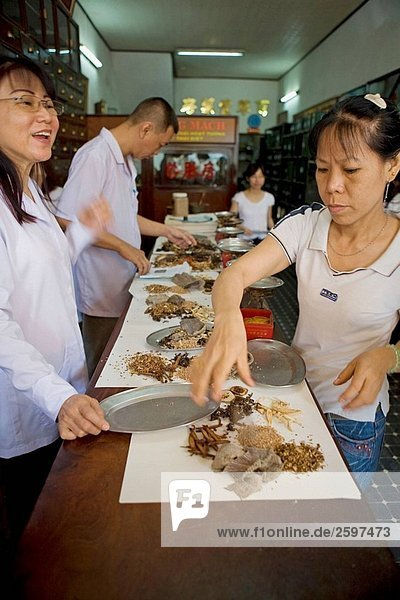 Bin Tay Markt in Cholon  Ho Chi Minh City  Vietnam
