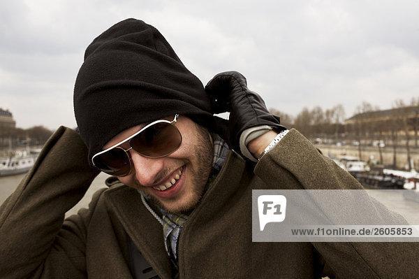 A Scandinavian tourist in Paris France