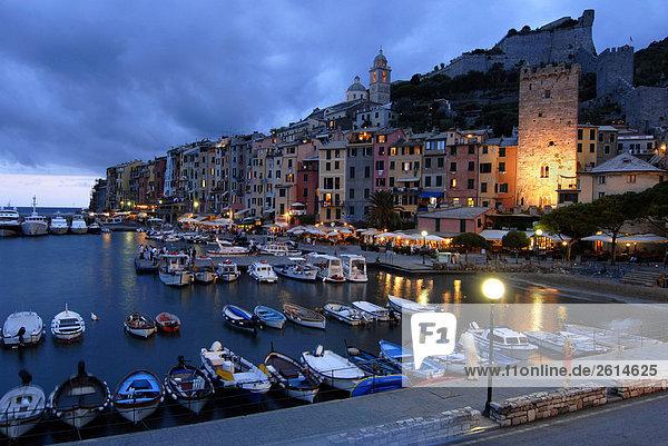 Italien  Ligurien  Portovenere. Der Hafen
