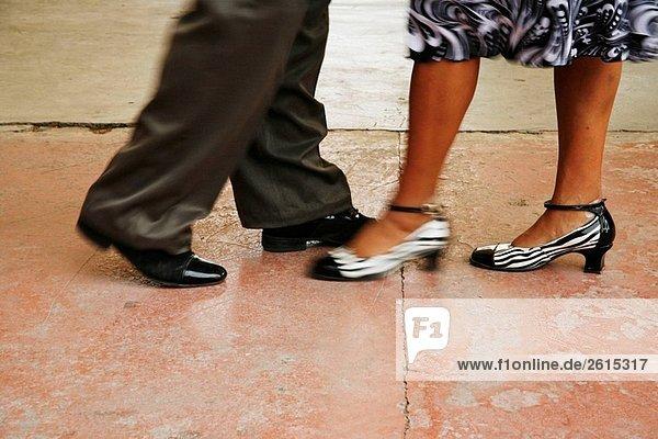 Paar Tanzen Danzon  Mexiko.
