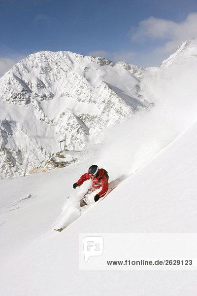 Österreich  Tirol  Stubaital  Herrenabfahrt