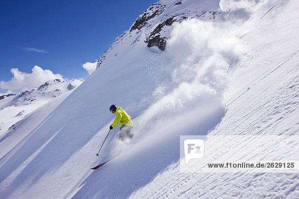 Österreich  Tirol  Zillertal  Gerlos  Freeride  Herrenabfahrt