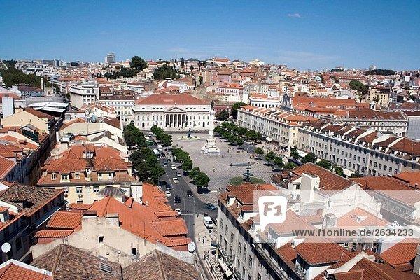 Rossio Square  Lisbon. Portugal
