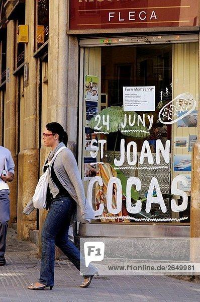 Baker´s Shop  Barcelona. Katalonien  Spanien