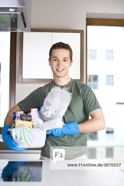 Mann Reinigung