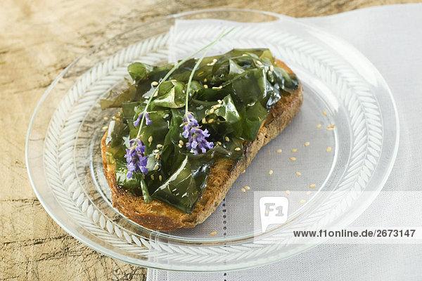 Blume Dekoration Sesam Samen Lavendel
