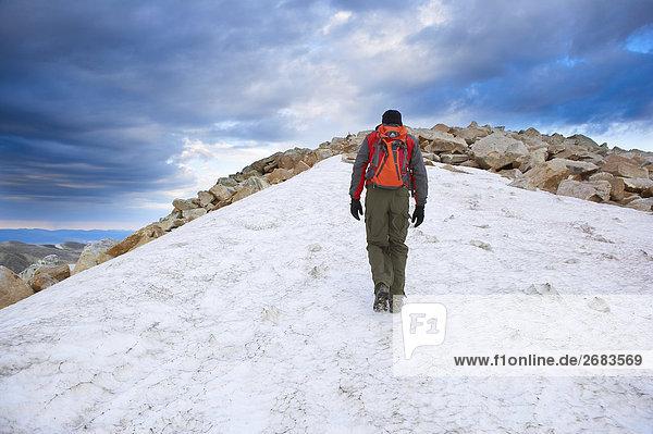 Klettern Medizin Bow Mountain  Wyoming