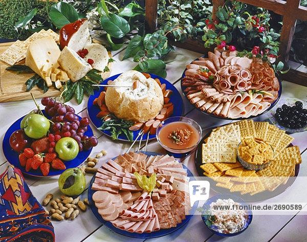Erhöhte Ansicht der Picada fiesta
