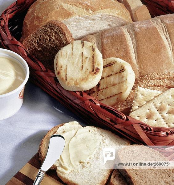 Assortierte Brot Nahaufnahme