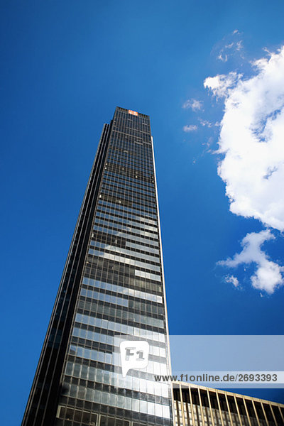 Untersicht of ein Wolkenkratzer  Manhattan  New York City  New York State  USA