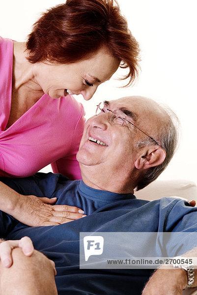Senior Senioren sehen Close-up close-ups close up close ups