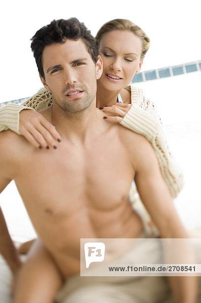 Beckenrand Close-up Mittelpunkt Romantik Erwachsener