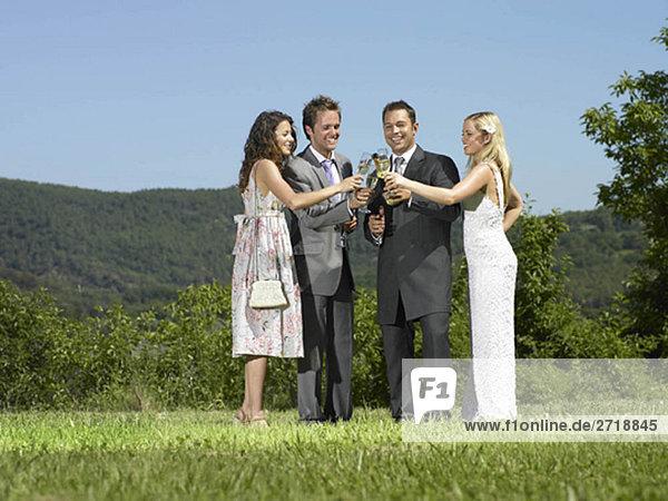Hochzeits-Toast
