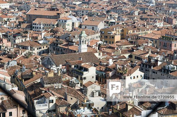 Italien  Venedig  erhöhte Ansicht