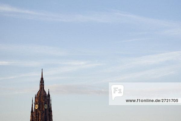 Germany  Frankfurt on the Main  Spire of Frankfurt Cathedral