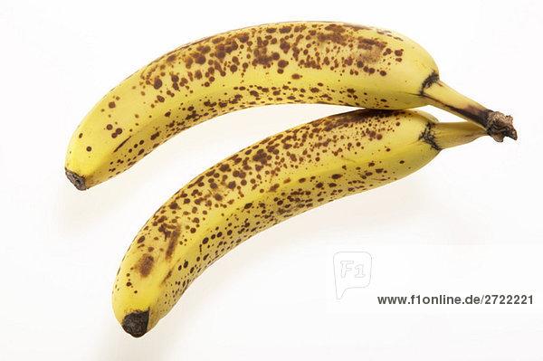Reife Bananen  erhöhte Ansicht