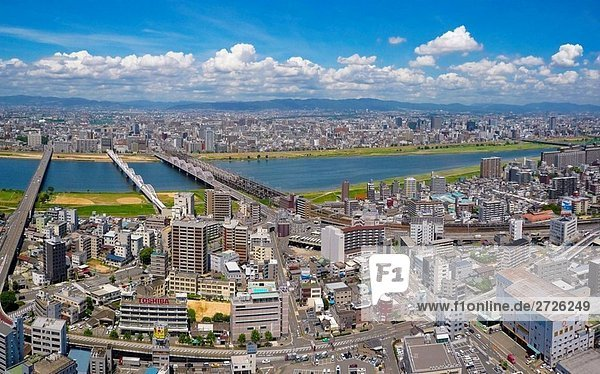 Yodo River Osaka Japan