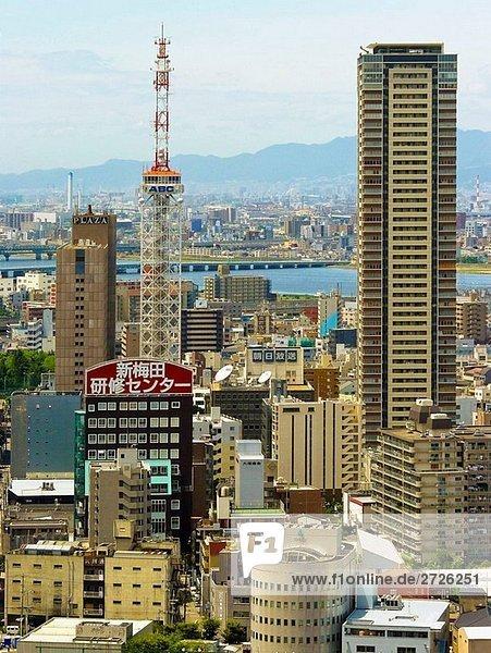 Gebäude Osaka Japan