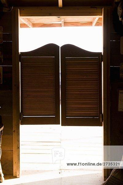 Saloon doors Saloon doors