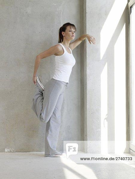 Dehnung vordere Oberschenkelmuskulatur