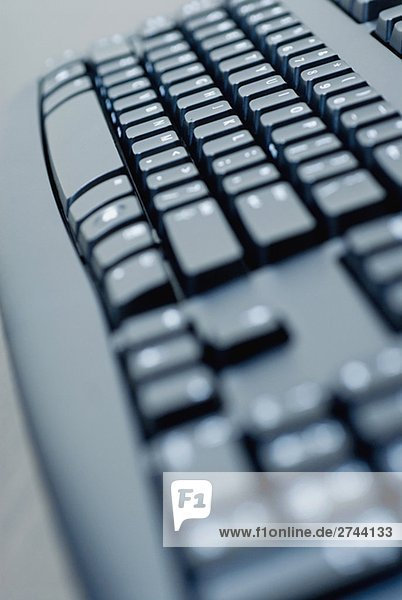 Nahaufnahme einer Computer-Tastatur
