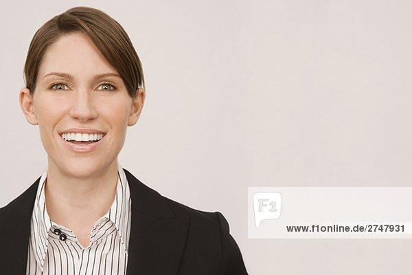 Porträt von lächelnd geschäftsfrau