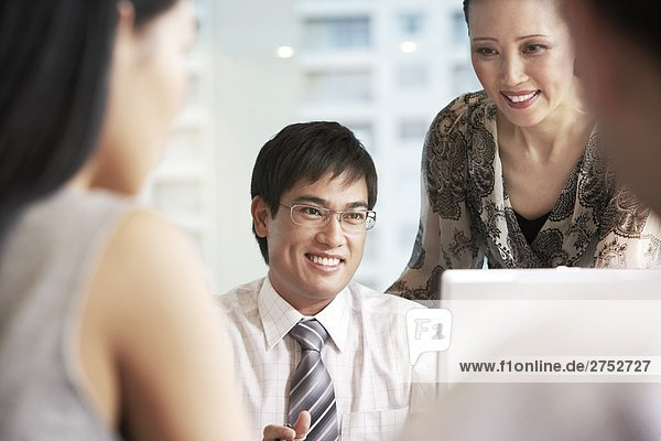 Ethnische Asian Business