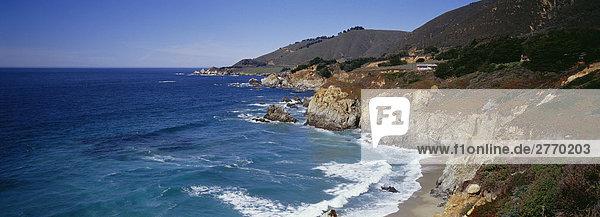 Küstenabschnitt  Big Sur  Kalifonien  USA