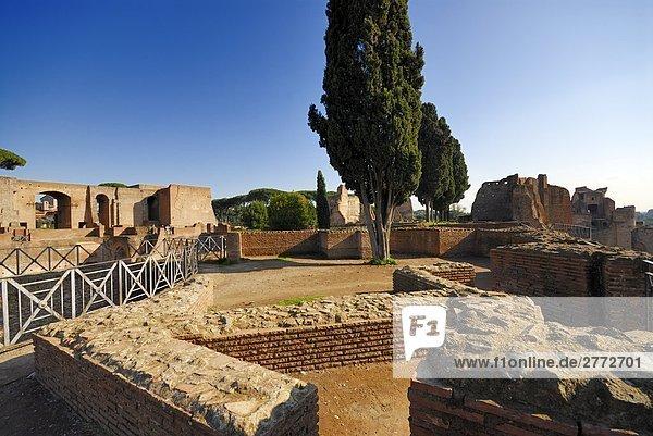 Rom Hauptstadt Italien Latium Palatin