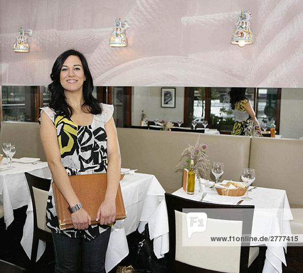 Restaurantbesitzerin