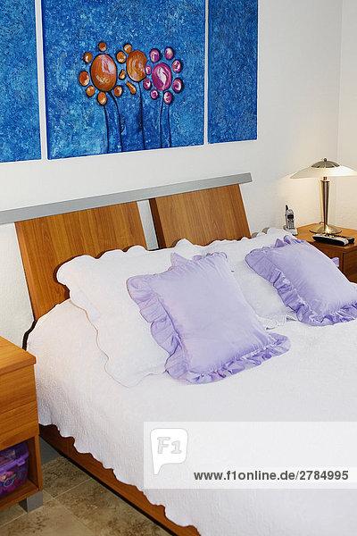Interieur aus einem Schlafzimmer