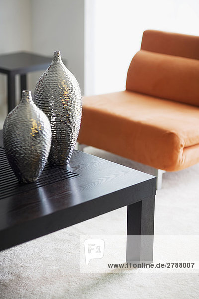 Vasen in einer Tabelle