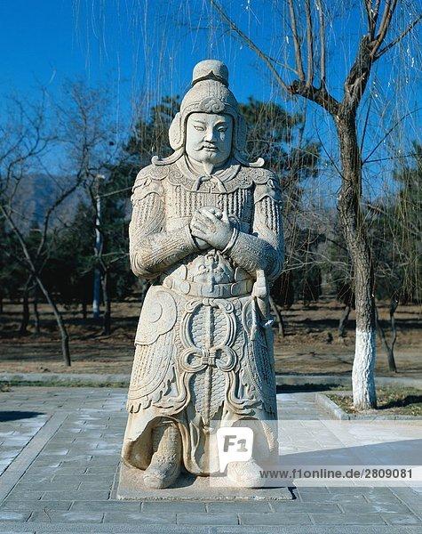 Stone Mann des Grabes Ming  Beijing