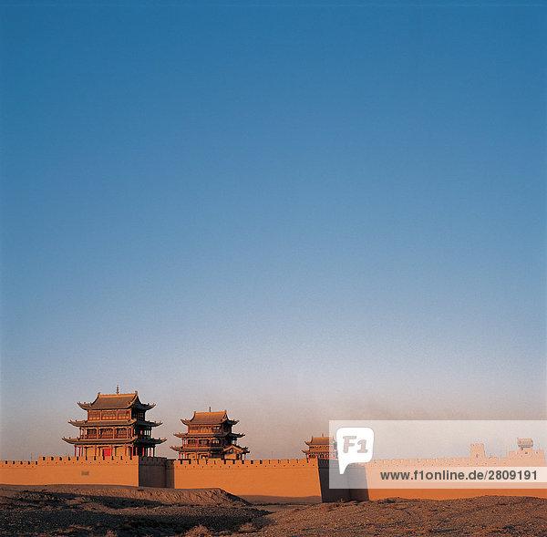 Jiayu Pass  Provinz Gansu  China