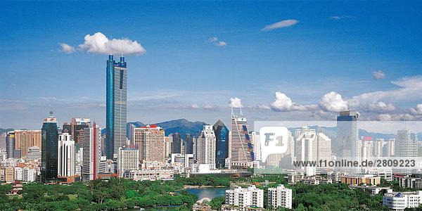 China  Shenzhen Stadtbild