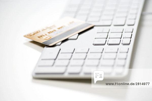 Computertastatur Tastatur Kredit Kreditkarte Karte