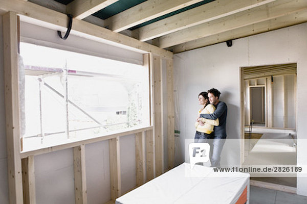 bauen jung Eigentumswohnung neues Zuhause
