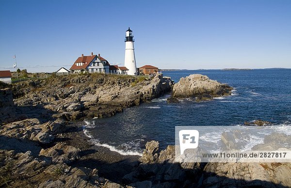 Portland Head Lighthouse  Cape Elizabeth  USA