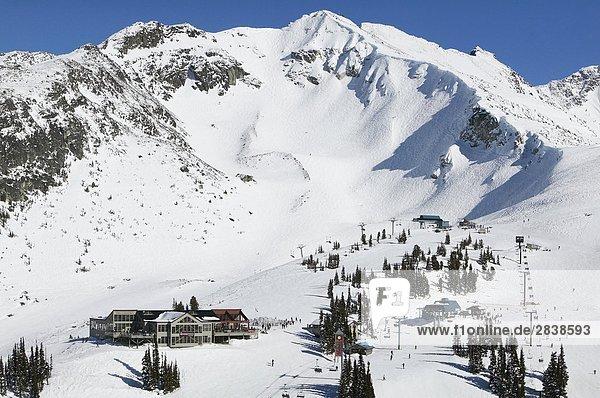 Whistler Mountain British Columbia Kanada