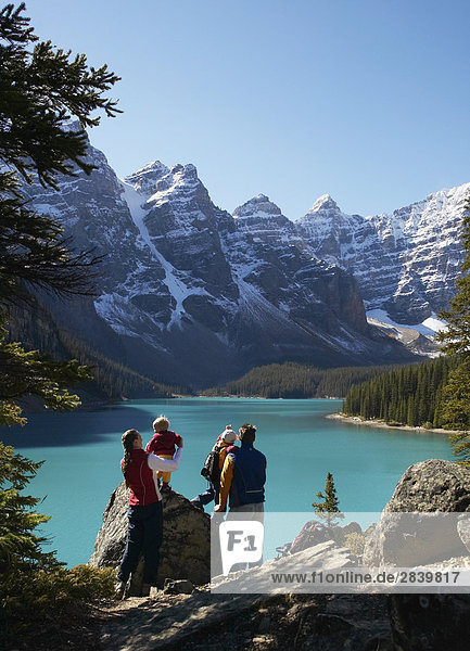 Moraine Lake  Banff-Nationalpark  Alberta  Kanada.