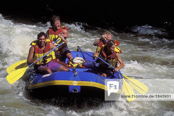 Cheakamus River  British Columbia  Kanada.
