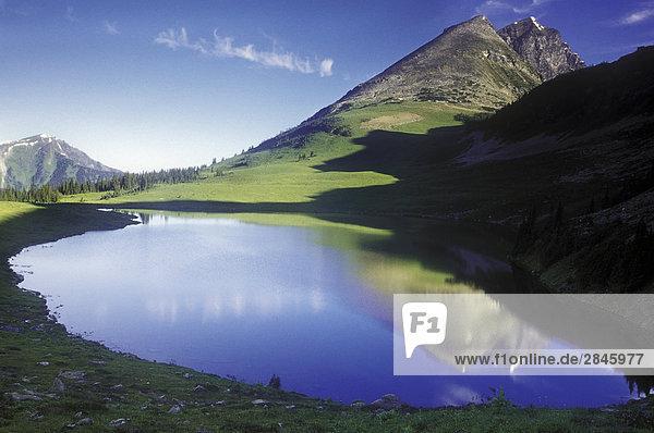 Alpensee im Cariboo Mountains  Cariboo Region  British Columbia  Kanada.