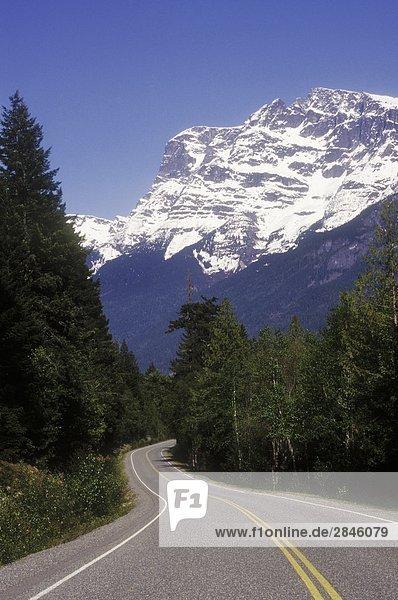 Highway 20  Tal Bella Coola  British Columbia  Kanada.