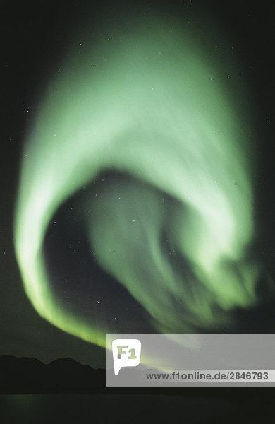 Nordlicht (Aurora Borealis)  British Columbia  Kanada.